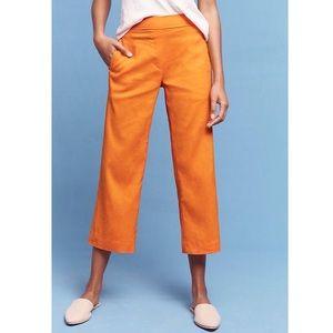 Anthropologie Cartonnier Cropped Flare Pants Sz M